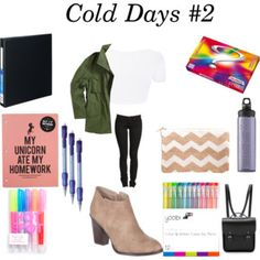 Back to School- Outfit #12 + Supplies