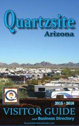 Quartzsite Visitor's Guide - 2015-2016