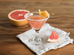 Make and share this Pink Grapefruit  Martini recipe from Food.com.