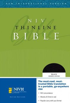 NIV - Thinline Bible