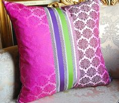 Pillows for purple couch.