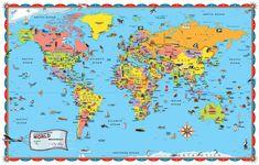 map new zealand kids map - Google zoeken