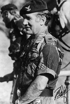 Col. Ron Reid-Daly, founder and C.O. of the Selous Scouts.