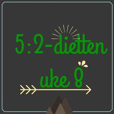 Forslag til dagsmeny for 2 av ukens dager, uke 8 – 2016 5 2 Diet