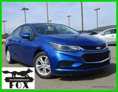 awesome Awesome 2017 Chevrolet Cruze LT Sedan $5721 OFF MSRP *NEW* 2017 Chevrolet Cruze LT Sedan *Kinetic Blue* Automatic 9483N 2018