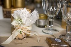 Wedding favors and tablescape #weddingdecoration