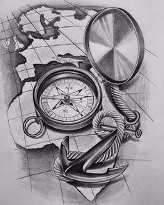 "498 Likes, 10 Comments - Davide MikArt (@davidemikart) on Instagram: ""Tattoo sketch! #artsanity #artFido #artistic_share #art_realistique #sketch_daily #artnerd2015…"""