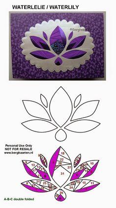 Water Lily Iris Folding