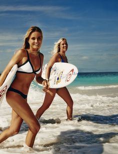 Bethany and Alana will both be on site for the event. Photo: Rip Curl