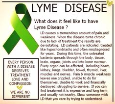 What's crazy is that people accept a nonsensical diagnosis like fibromyalgia and actually believe they are in pain with no real scientific reason for why it occurs, but when one has a solid, documented Western Blot proving Lyme and co-infections, they are denied treatment by insurance companies that'd go bankrupt at the cost of treatment for the millions affected.