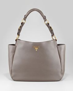 My new Vitello Daino Pocket Hobo by Prada