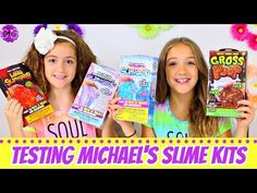 First Time Making Slime to Sell! Back to School Slime Recipe, Shopping at Michaels Slime Ingredients Karina Garcia, Youtube Slime, Girls Are Awesome, How To Make Slime, Slime Videos, Food Obsession, Slime Recipe, Diy Slime, Squishies