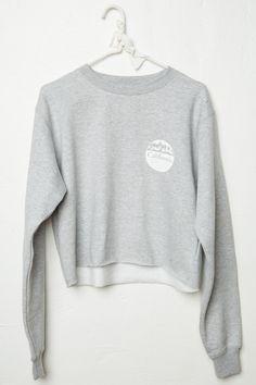 Brandy ♥ Melville | Nancy CA Stores Sweatshirt - Graphics