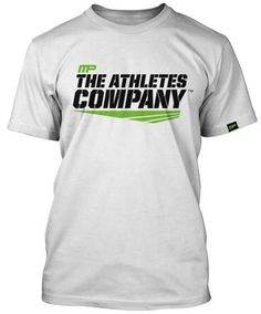 Gray MusclePharm Mens MP Embroidered V-Neck T-Shirt Small