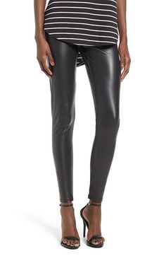 Free shipping and returns on BP. Faux Leather Leggings at Nordstrom.com. Add a luxe, liquid look to your layered ensembles with lustrous faux-leather leggings cut with a flattering high waist.