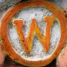 Graphic design Typographic Alphabet Letters W