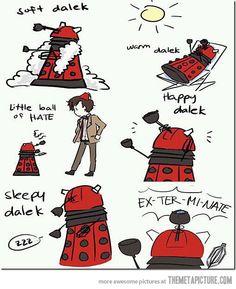 Soft Dalek…