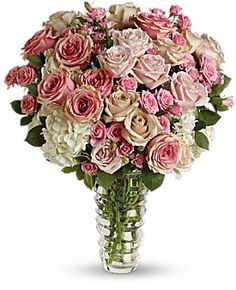 Luxe be a Lady Bouquet - At Jacqueline's Flowers & Gifts
