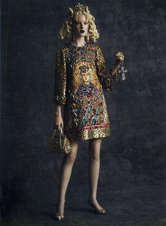 Dolce&Gabbana Fall Winter 2014, Spur Magazine Japan October 2013