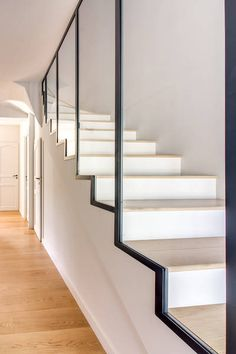 Inventive Staircase Design Tips for the Home – Voyage Afield Staircase Storage, Staircase Makeover, Staircase Design, Home Room Design, House Design, Winding Staircase, Flooring For Stairs, Traditional Staircase, Basement Furniture