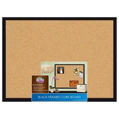 Cork Board - even though most dorm rooms might have cork boards, an extra one still comes in handy (hang up with the 3M Command strips).