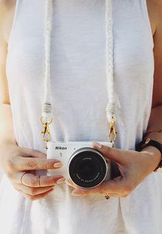 DIY: braided camera strap