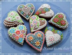 Hearts again - my favorite of all the other cookie ))) | Cookie Connection