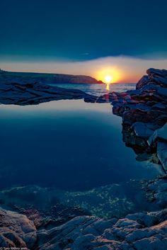 Cold Sunset by Tony Sydney on 500px