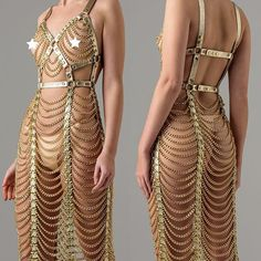 Ladies Outfits, Dress Outfits, Dresses, Body Chains, Fashion Glamour, Samara, Diy Dress, Dance Wear, Savannah