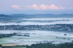 Tavistock, Devon - morning mist