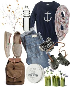 """""""A Scene from Nature"""" by igamine ❤ liked on Polyvore"""
