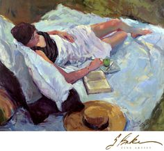 """""""Khayt and Ralph in the Shade"""" - Plein Air Painting with Model"""