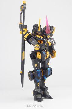 HG G-Self Custom - Customized Build Modeled by Battle Bots, Big Battle, Gundam Wing, Gundam Art, Gunpla Custom, Custom Gundam, Plastic Model Kits, Plastic Models, Gundam Mobile Suit