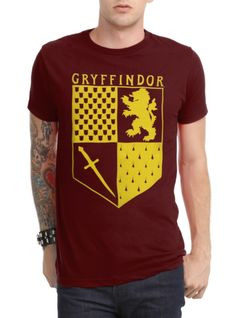 Harry Potter Gryffindor Banner T-Shirt | Hot Topic