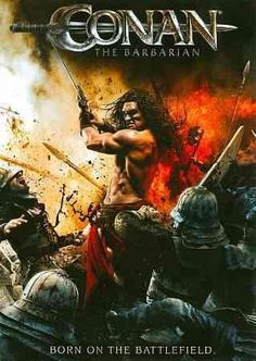 When a powerful force of supernatural evil threatens to destroy Hyboria, legendary Cimmerian warrior Conan (Jason Momoa) raises his sword against mythical monsters and treacherous enemies. Ron Perlma}