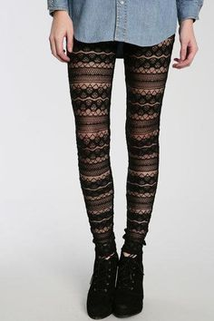 I need really good tights like this, the ones i get always dont fit right! :(