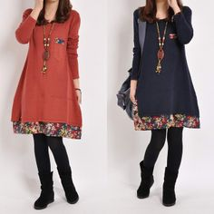 2013 Autumn and Winter Christmas Maternity Clothes Casual Plus Size Pregnant Dresses Patchwork Long-Sleeve Gravida Women's Dress