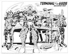 Argo   Confira os desenhos de Jack Kirby para o filme original > Quadrinhos   Omelete