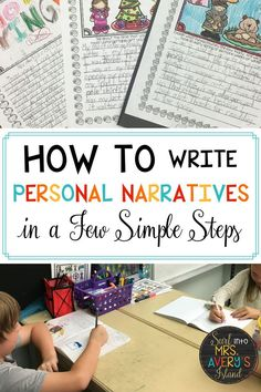 Looking for a way to teach your students how to write a personal narrative? In just a few simple steps your students can be transformed into amazing authors. Check this out and see what a game changer it was for me! Teaching Narrative Writing, Personal Narrative Writing, Personal Narratives, Kindergarten Writing, Informational Writing, How To Teach Writing, Writing Mentor Texts, Procedural Writing, Writing Rubrics
