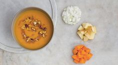 Carrot Soup With Hazelnuts And Brown Butter - SuperValu Carrot Soup, Vegetable Stock, Salted Butter, Brown Butter, Meal Planner, Cooking Time, Real Food Recipes, Carrots, Vegetarian