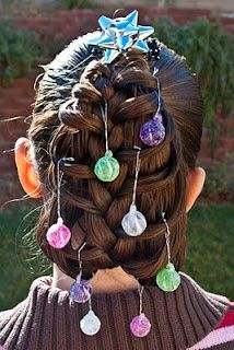 737 Best Christmas Hairstyles Images Christmas Hair Christmas