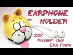 YouTube Diy Clay, Clay Tutorials, Clay Creations, Diy Videos, Phone Covers, Polymer Clay, Diy Crafts, Crafty, Phone Holder