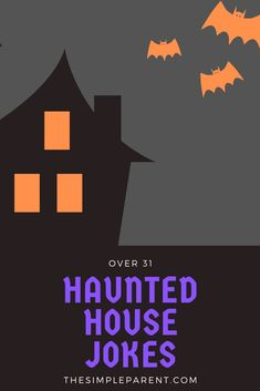 Halloween is always a fun season for kids. You can share the laughs together with these funny (and clean!) haunted house jokes! All of these riddles and jokes have some connection to a haunted house! Halloween jokes are some of the best! Halloween Jokes, Halloween Season, Jokes And Riddles, Good Jokes, House Jokes, Jokes For Kids, Superhero Logos, Free Printables, Parenting