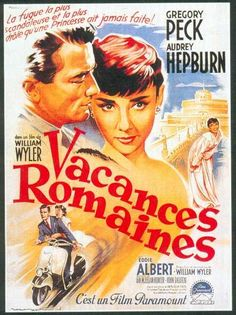 vacances romaines | Le Deblocnot': VACANCES ROMAINES, un film de William Wyler…