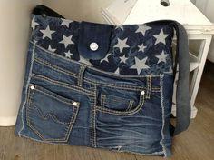 Jeanstasche  <<< STARS II >>>