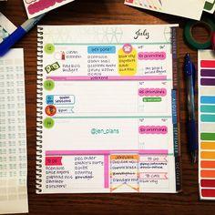 Working on my last half! Sticker sources tagged! #weloveec #wlechorizontal #wlecweekly #wlecweekend #planner #plannerlove #plannernerd #planneraddict #plannerjunkie #plannerobsessed #plannerstickers #erincondren #ECLifePlanner #ECLP #eclp16 #lifeplanner