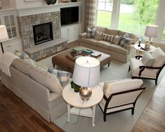 Traditional Living Room Fireplace Mantel Design, Pictures, Remodel, Decor and Ideas - page 42