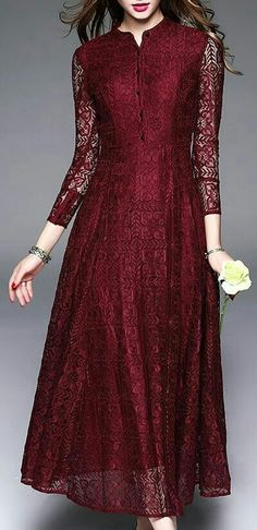 cd055f98836c Floryday Dresses, Vintage Dresses, Nice Dresses, Mom Dress, Hijab Outfit,  Pakistani