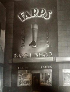 big boot at Farrs Boot Shop at & Penn Streets Berks County Pa, Reading Pennsylvania, The 'burbs, Reading Pa, Boot Shop, My Town, Historical Photos, My Childhood, Cities