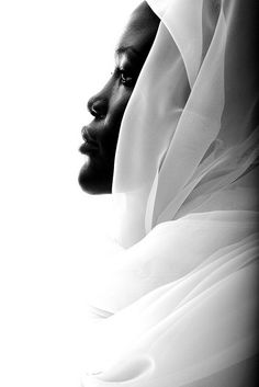 "Lucy's Profile - A tribute to Gordon Parks. - <3 An image of Lucy shot as a tribute to Gordon Parks who photographed black muslim women inside churches during his career. '""This image reflects the talent and discipline that Parks conveyed in every shot"" - Dexter Browne."